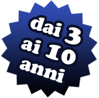 Logo dai 3 ai 10 anni j