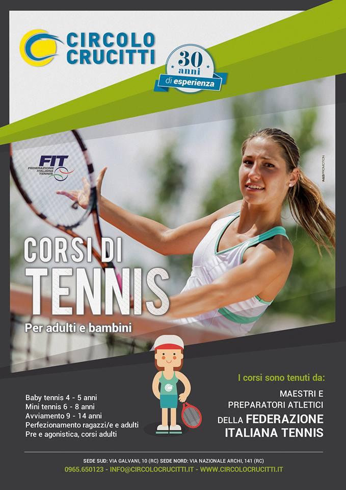 corsi tennis 2016-17